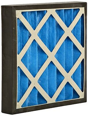 GVS Filter Technology G4P.15.15.4.SUA001.005 G4 Pleated Panel Filter, Blue/White