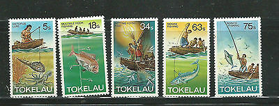 1982 Fishing Methods Part set of  5 Complete MUH/MNH  Sold as per Scan