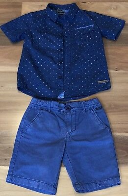 Boys Mossimo Shorts And Shirt Size 6