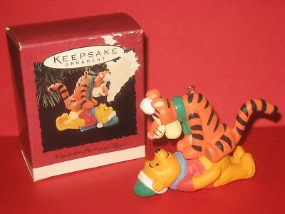 1994 Hallmark Winnie-the-Pooh and Tigger Damaged Box w/ Price Tab