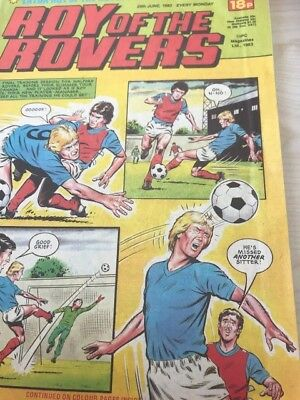 Roy of the Rovers 1983 x 54