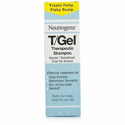 T/Gel Neutrogena 125ml Therapeutic Shampoo Itching Psoriasis Dandruff Packs
