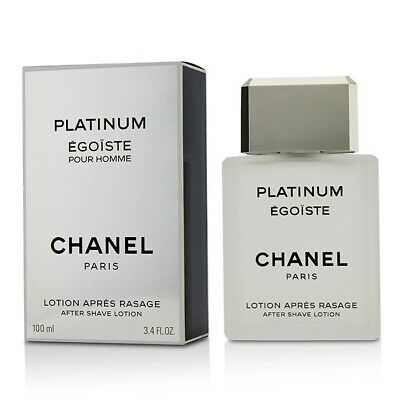 Chanel Egoiste Platinum After Shave Lotion 100ml Mens Cologne