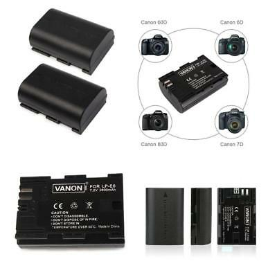 Genuine Canon Lp E6 Replacement Battery Pack For Eos 60d
