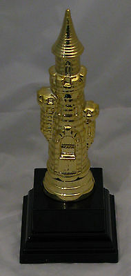 Chess Castle Figurine Trophy 180mm Engraved FREE