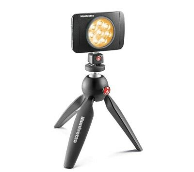 Manfrotto Lumimuse 8 On-Camera LED Light (Black) 🇦🇺Stock