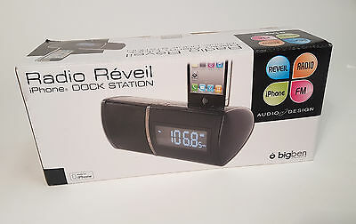 BigBen iPod/iPhone Docking Station RRSE3 Schwarz