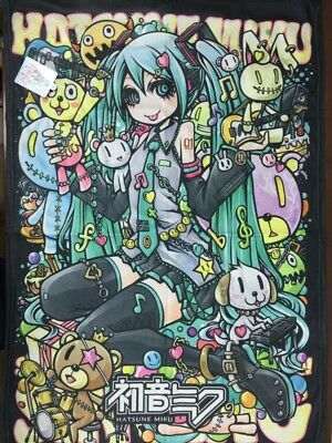 Vocaloid Hatsune Miku Travel Blanket Loot Crate Anime Exclusive (New)