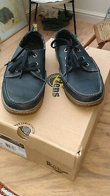 Dr Marten deck type shoes size 8 new with box