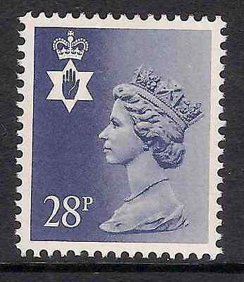 Northern Ireland 1987 NI62a 28p litho phosphorised paper perf 15x14 type II MNH