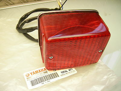 Neu / New Original Yamaha Tail Lamp Rear Stop Light Sr500 Xs400 Xs650 Rücklicht