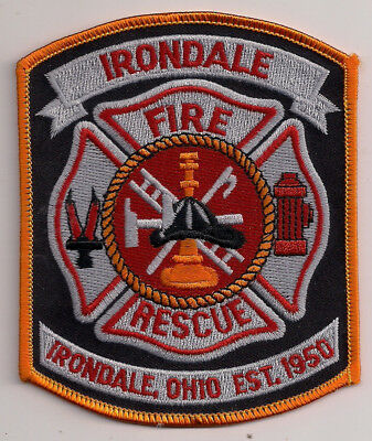 Patch Abzeichen Irondale Fire Department Ohio OH USA Feuerwehr