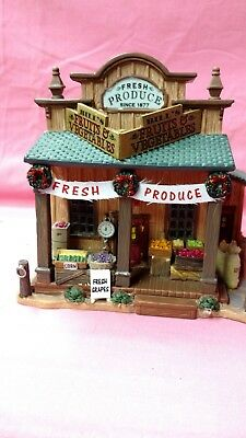 "Lemax Harvest Crossing collection  "" Bill's Produce Mart """