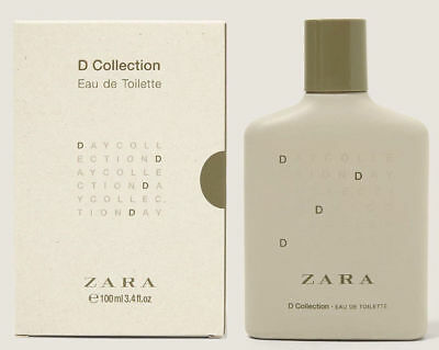 ZARA MAN D Collection Original Eau Toilette Perfume Men 100ml 3.4oz New Sealed