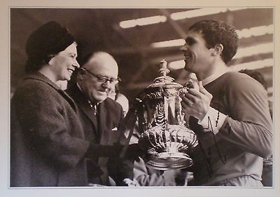 Ron Yeats Signed Liverpool 1965 FA Cup Photo 16x12 COA AFTAL RD175