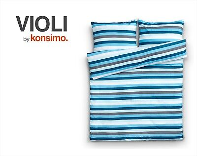 KONSIMO - VIOLI Bettwäsche Set Bettgarnitur 200x220/ 2*70x80 100% Mikrofaser TOP