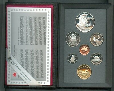 Kanada, 1995, KMS, Double Dollar Prestige Set, PP