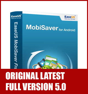 Android Data Recovery PRO for Windows - EaseUS MobiSaver for Android ORIGINAL