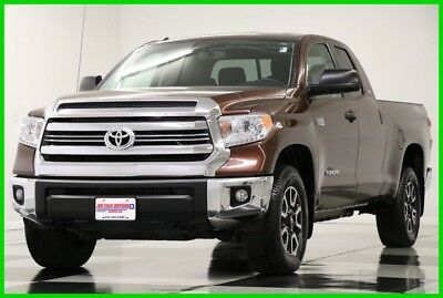 2016 Toyota Tundra Tundra 4WD TRD Pro Camera Sunset Bronze Mica Double Like New Used Bluetooth 5.7L V8 USB Power Options 17 18 2017 16 Extended Cab