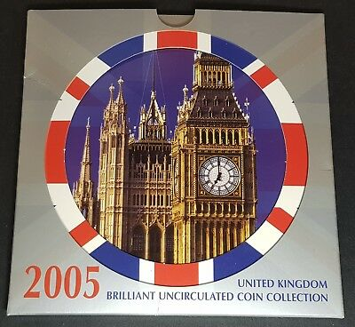 1982 - 2005 Royal Mint Uk Brilliant Uncirculated Coin Set - Choose Your Year!