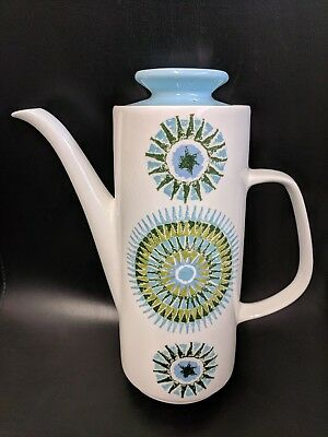 Retro 1960's J G Meakin Studio Coffee Pot