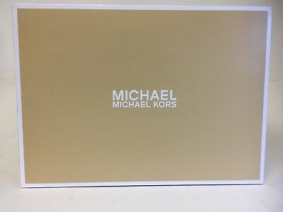 EMPTY Michael Kors Women's Shoe Gift Box Lid Storage Cardboard Gold