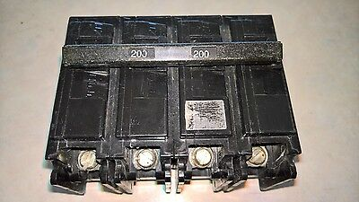 ITE/Siemens 200Amp Main Breaker Four Pole 200a 120/240v # EQ9685