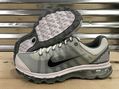 new product 1e641 4d6a1 Nike Air Max 2009 Running Shoes Cool Gray White Black SZ ( 486978-101 )