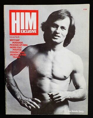 Vintage Gay Magazine - HIM Exclusive - Original 1975 - Issue 5