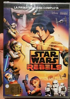 Dvd Star Wars Rebels Stagione Prima 1 Uno  Nuovi Sigillati Lotto Stock