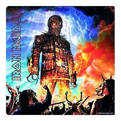 Iron Maiden Wicker Man Single Drinks Coaster Gift Band Album Fan