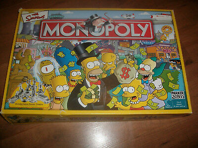 You Choose Monopoly The Simpsons Replacement Spare Parts