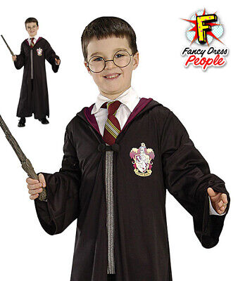 Rubies Harry Potter Blister Kit Wizard Gryffindor Robe Glasses Wand Fancy Dress