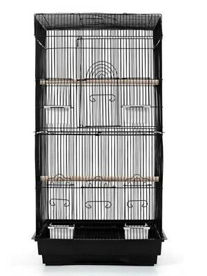 Bird Cage for Budgies,Canaries,Cockatiel  and similar size birds- In White only