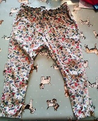Girls NEXT Hareem/slouch trousers age 3-4years