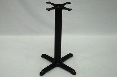 1 x NEW black cast table base dining restaurant cafe pub bar
