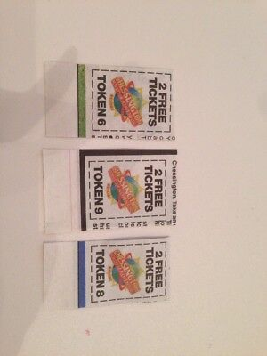 3 X Sun Tokens For 2 X Free Tickets For Chessington World Of Adventures