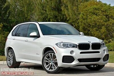 2015 BMW X5 sDrive35i Sport Utility 4-Door 2015 BMW X5 M SPORT! White/White! Loaded! 1 Owner.