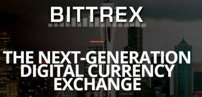 BITTREX Account - Unused, Ready for Trade
