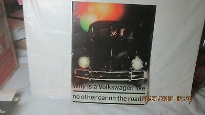 Brochure, 1975 ?, Why is a Volkswagon Like No Other Car on The Road?