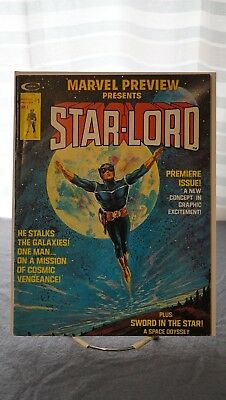 Marvel Preview #4, 1St App. Of Starlord, Gotg!!!! Great Looking Copy!