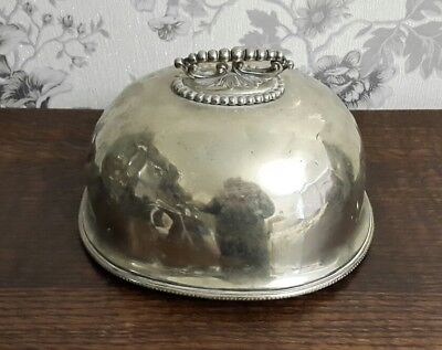 A Victorian Silver Plated Cloche by Benetfink & Co