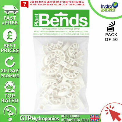 Plant Bends - Pack of 50 - Plastic Bendz for Plant Training Support