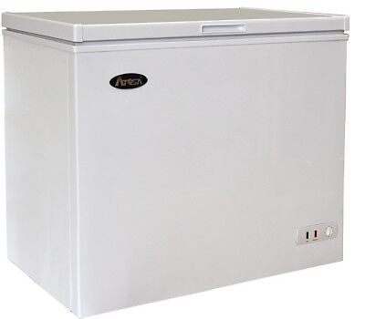 Atosa MWF9007 Commercial Solid Top Chest Freezer - 7 Cu.Ft.