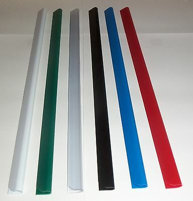 Slide Binders/Spine Bars Size 6mm  x 297mm in  (40 Sheet Capacity) FREE P&P