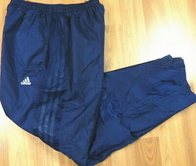 Mens Adidas Nylon Rain Sweat Pants Size Xl Very Nice
