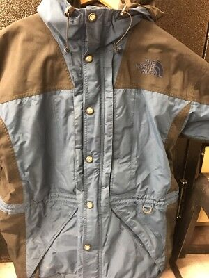 Vintage The North Face Gore Tex Hooded Jacket Mens Large Waterproof RTG Rare