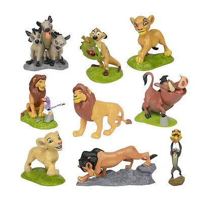 9 pcs The Lion King PVC Action Figures Collection Movie Child Toy Gift Set Simba