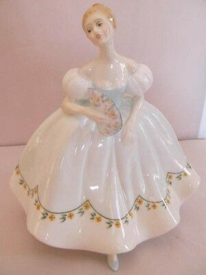 Royal Doulton  Figurine, First Dance Hn 2803, Approx. 71/2 Inches