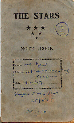 Malta   1959-61 kpl. Mietbuch - cpl rent book, 24 pages
